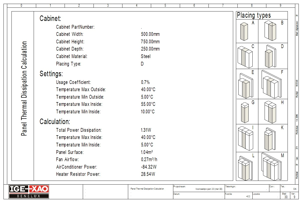 Panel Thermal Calculation1