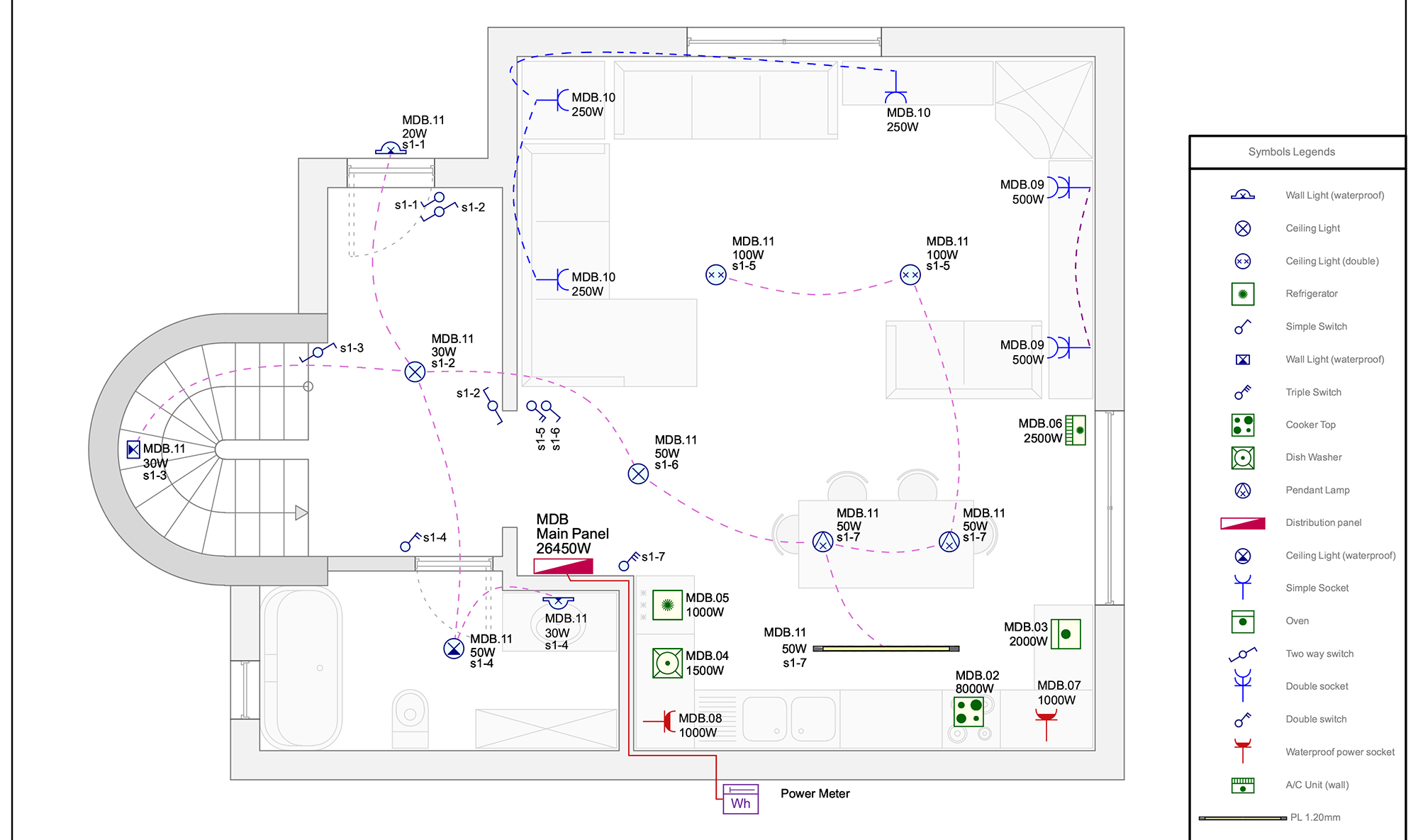 See Electrical Ige Xao Cad Software For Easily Creating Basic Ac Wiring Diagrams Building