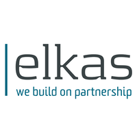 Elkas we build on partnership logo 200x200