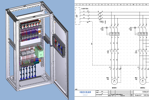 Screenshot of SEE Electrical Expert v4r3 an electrical design software