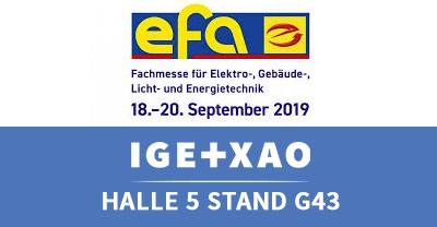 EFA Leipzig  - IGE+XAO